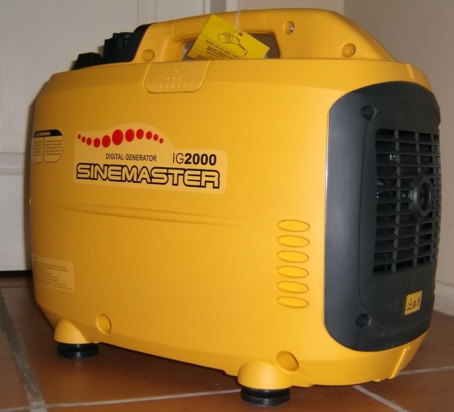 Generador Insonoro 2 kw.
