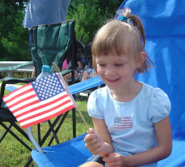 Hannah's first 4th of July