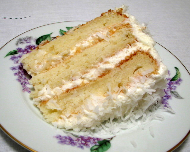 Cake Frosting With Coconut Cream