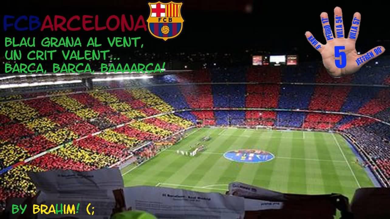 FC Barcelona Menu By Brahim