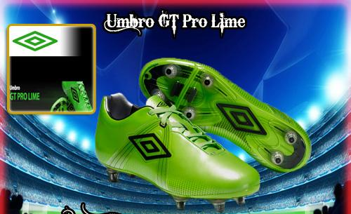 Umbro GT Pro Lime Green Boot