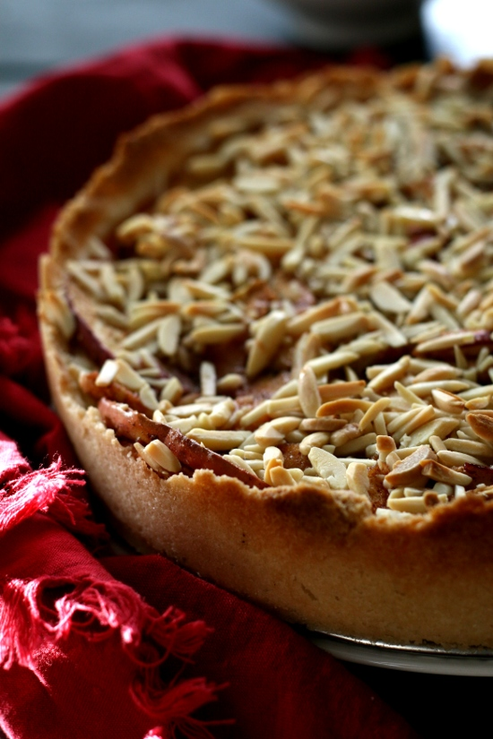 Buttery Apple Cream Cheese Torte::