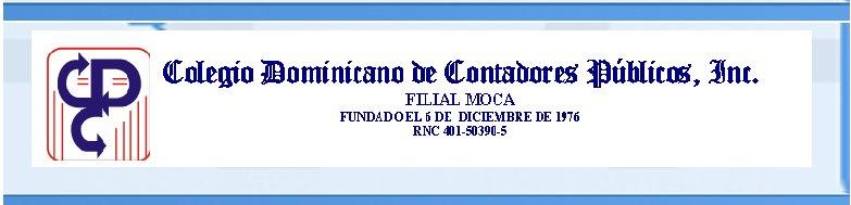 Colegio de Contadores Moca