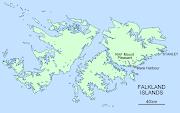 . la decisión de Gran Bretaña de lanzar misiles desde las Islas Malvinas. px mount pleasant mare harbour