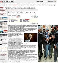 Anwar Jadi Pilihan Israel Untuk Jadi PM Malaysia. Apa maknanya semua ini?