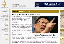 Semua Agensi Berita Asing Sokong Anwar. Kenapa Sokong Sangat Ni? Agensi ke Agen ni?