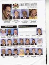 Kabinet Bayangan Anwar