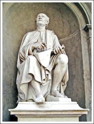 Brunelleschi statue Florence Italy