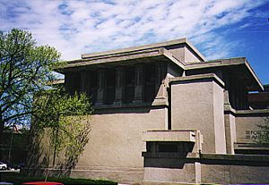 FLW Frank Lloyd Wright Unity Temple Oak Park Illinois