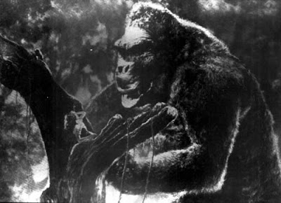 King Kong Fay Wray scared