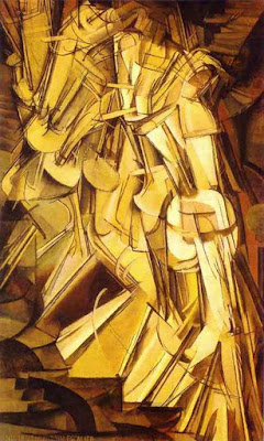 Marcel Duchamp Nude Descending a Staircase