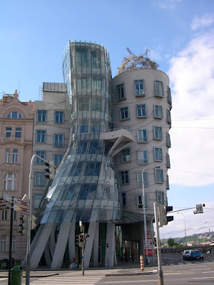 Frank Gehry Prague Ginger and Fred