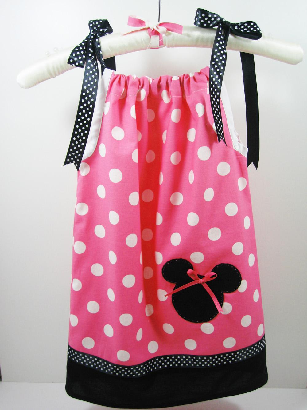 Bellarageous Minnie Mouse Pillowcase Dress
