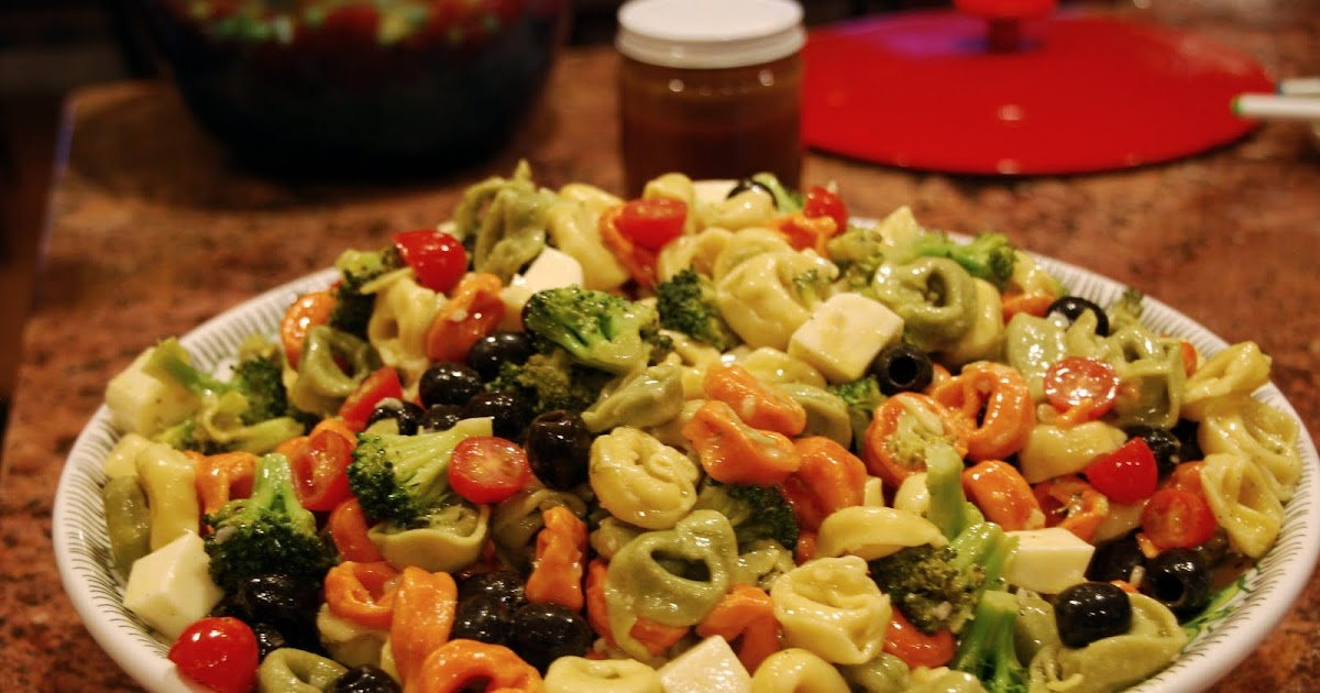 Frugal Feasts: Tortellini Salad for a Crowd