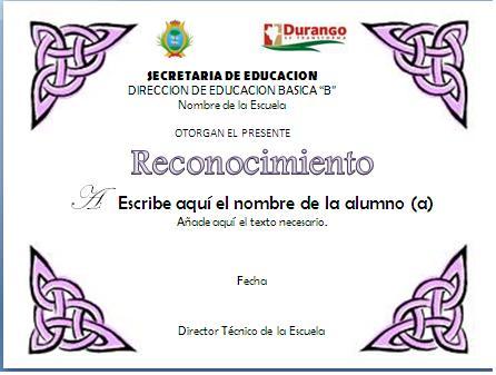 blog de educacin fsica reconocimientos y diplomas
