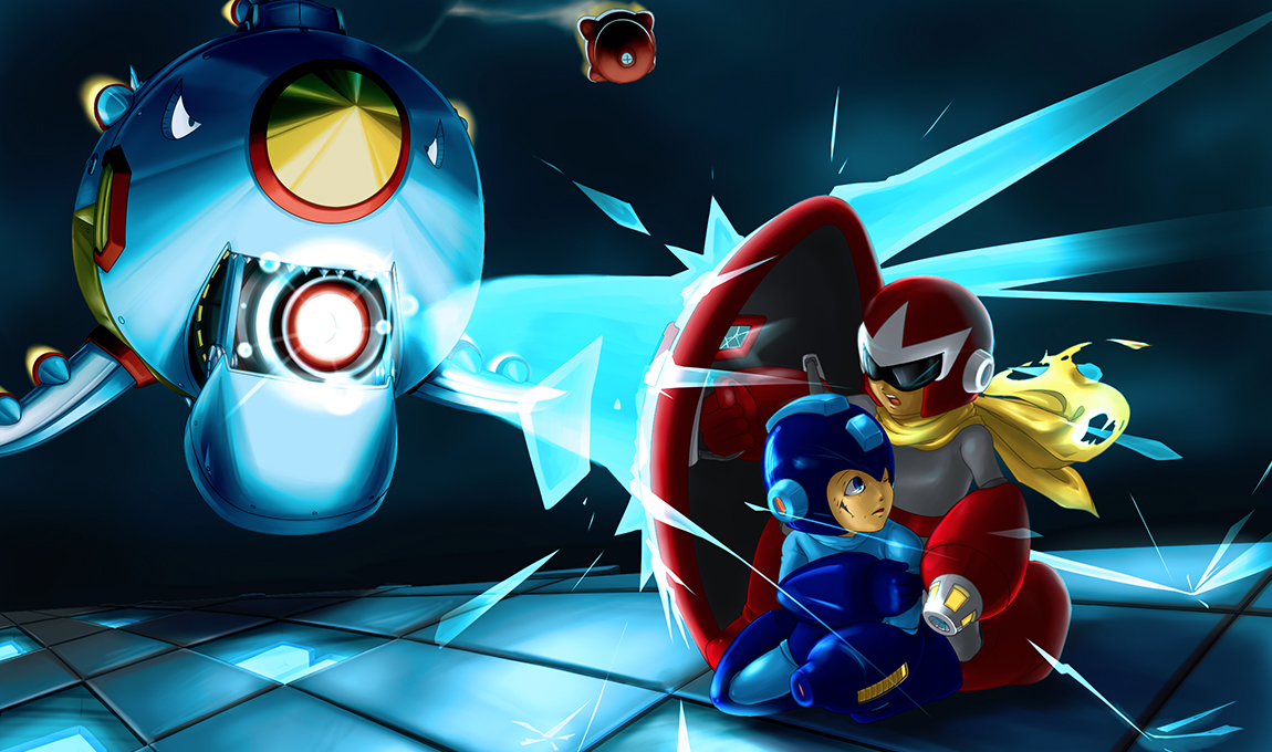 Megaman HD & Widescreen Wallpaper 0.669932289270725