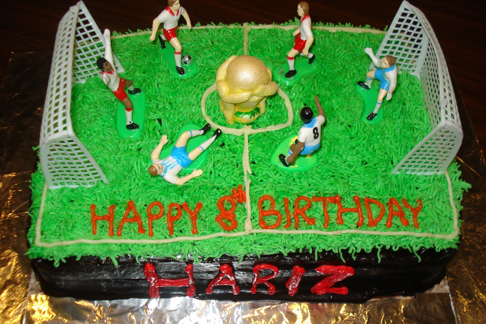 Jasmines Kitchen Of All Things Nice World Cup Theme Birthday Cake