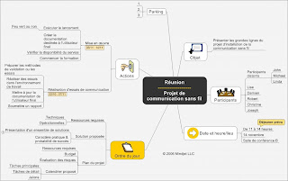 carte heuristique, carte, heuristique, mindmapping, mind mapping, mind, mapping, mindmap, map, signos, productivite, reunion