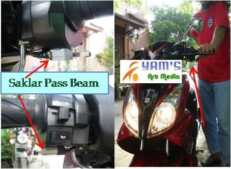 Pass Beam Motor Bebek