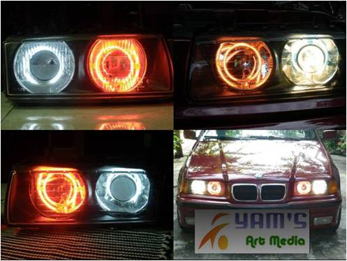 Angel eye di BMW 318i