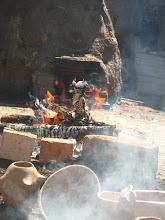 horno mapuche y de pozo