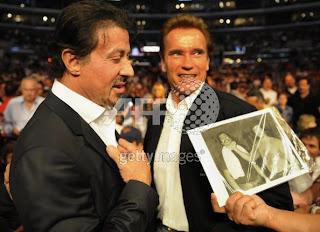 Stallone e Schwarzenegger