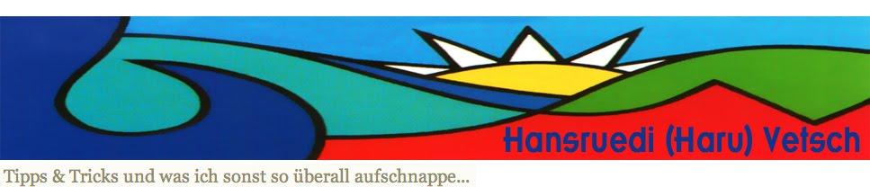 Hansruedi (Haru) Vetsch