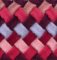 Knitting Pattern Of The Day : The Friendship Afghan Project: Pattern of the Day ...