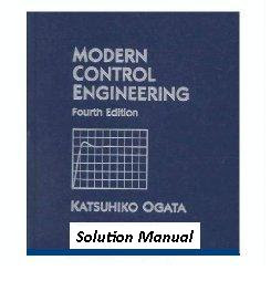 Modern Control Engineering by K Ogata 3rd Edition free pdf download