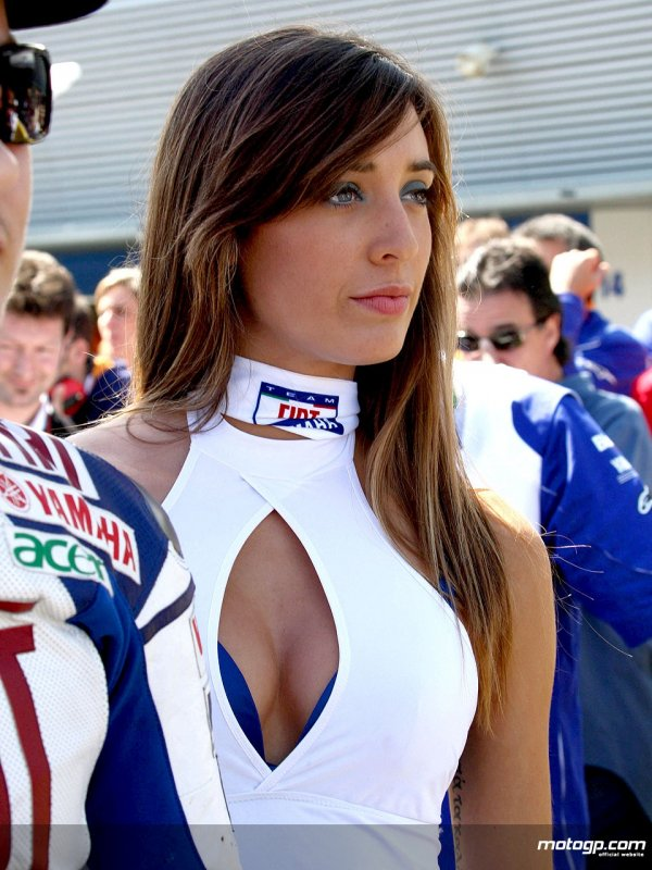 Moto Gp Grid Girl Show and The