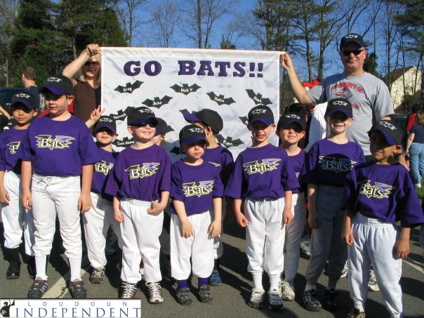 The Bats on Little League Opening Day...