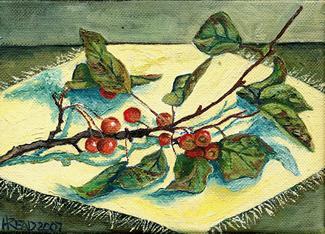 [crab+apple+Twig]