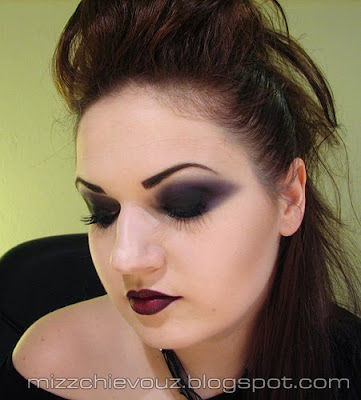 goth makeup styles. gothic makeup designs. gothic