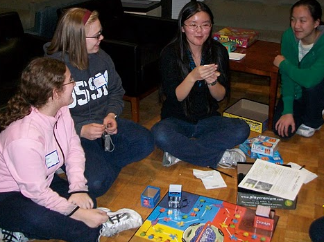 Back gt pix for gt teenagers playing board games
