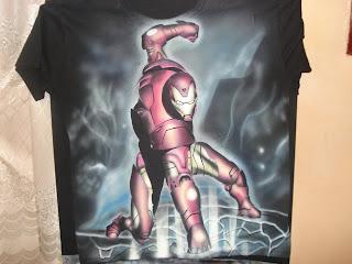Aerografia, Iron Man