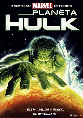 Filme Poster Planet Hulk DVDRip XviD-CW TeaM Legendado