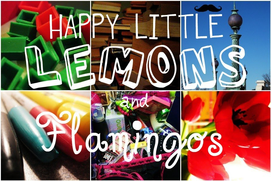 Happy Little Lemons and Flamingos