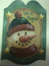 Snowman Board Tutorial - Free Painting Directions