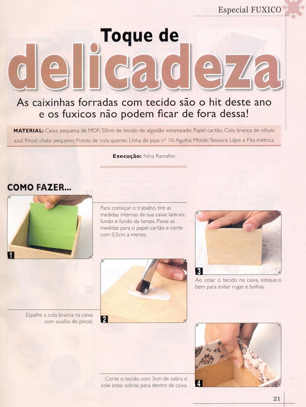 Postando Sobre Artes: pap / tutorial como forrar caixa mdf com tecido #967235 1204x1600