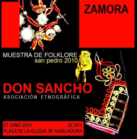 DON SANCHO. Difusión de la Cultura Tradicional de Zamora ... - photo#23