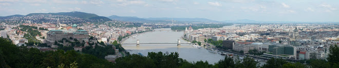Budapest panorama from the Citadella