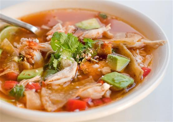 Kitchen Comments: Smoky Chicken and Tortilla Soup