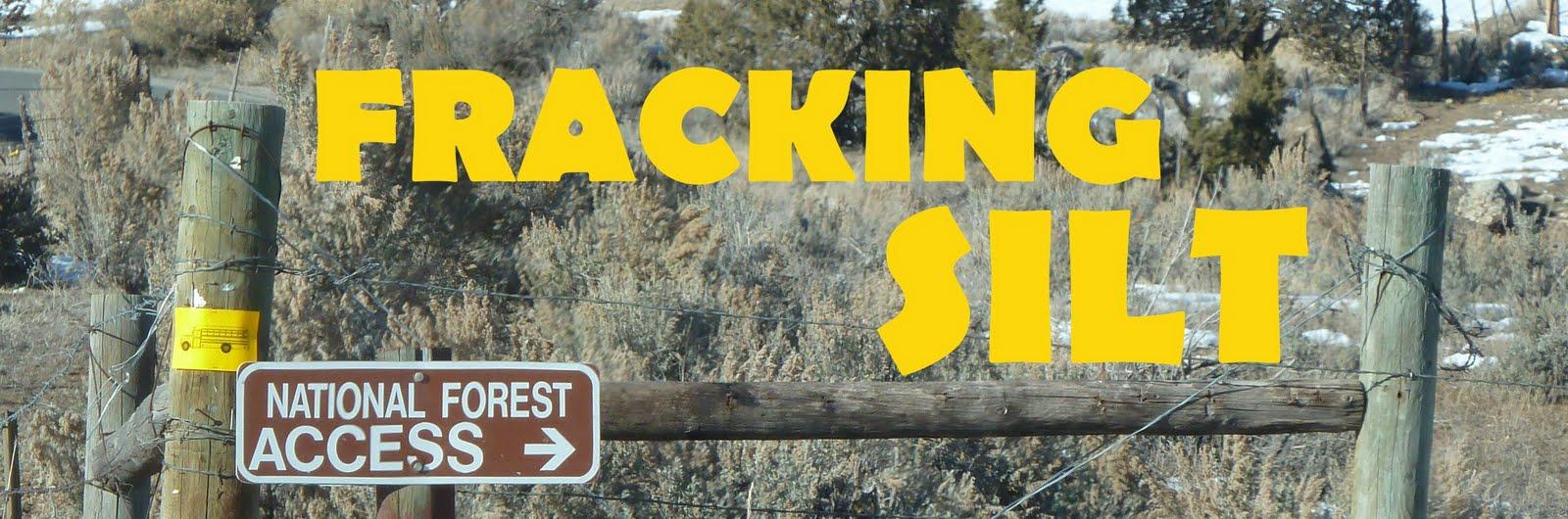 Fracking Silt