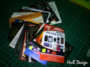 Tempahan Business Card Anda