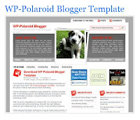 template blog gratis