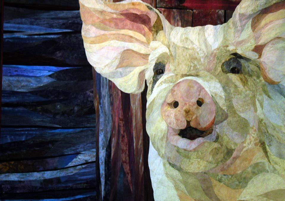 Barbara Strobel Lardon Art quilts: All about the Animals at Quilt ... : david taylor quilt - Adamdwight.com