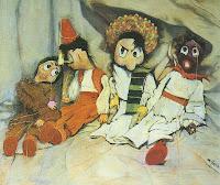 Ilustración del cuento 'Historia de marionetas en Reynosa. El rescate del alquimista'