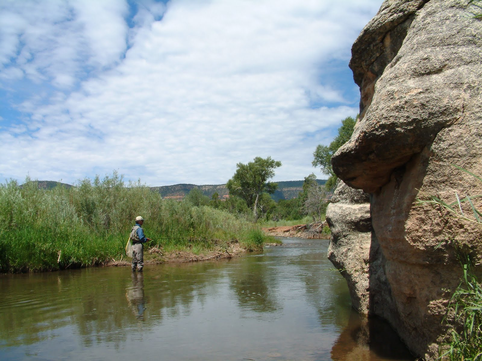 Fly fishing the pecos national historical park check it for Fishing new mexico