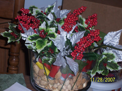 christmas centerpiece from Myanderings