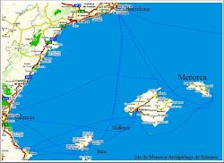 Situacion de Menorca
